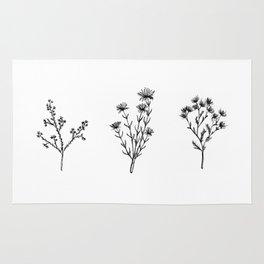 Wildflower Trio Rug
