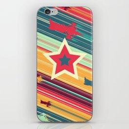 A Dandy guy... In Space! iPhone Skin
