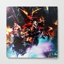Ichigo Kurosaki Metal Print