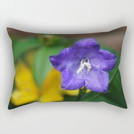 Purple flower Rectangular Pillow