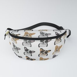 Welsh Corgi Pattern Fanny Pack