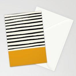 Fall Pumpkin x Stripes Stationery Cards