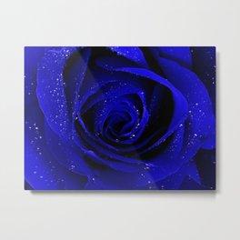 Midnight rose Metal Print