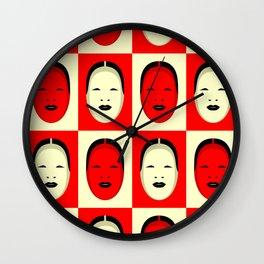 Noh, Ephemera (from Studio Glmn archives) Wall Clock
