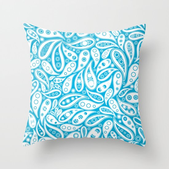 Seamless pattern Throw Pillow