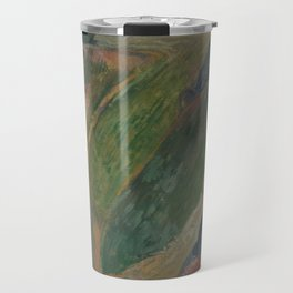 The Flageolet Player on the Cliff Travel Mug