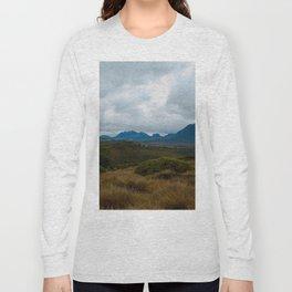 Button Grass Long Sleeve T-shirt