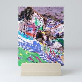 Salvation Mountain Rainbow Palace Mini Art Print