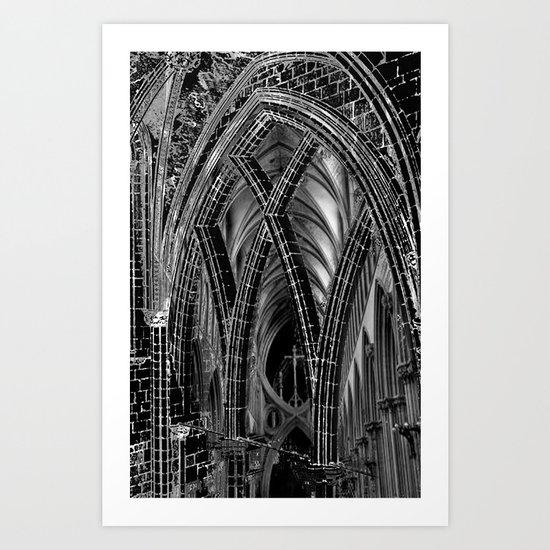 A Church Art Print