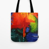 shell Tote Bags featuring shell by sewec