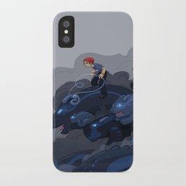 Rainy Day Activities iPhone Case