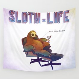 SLOTH LIFE fig. 1. Wall Tapestry