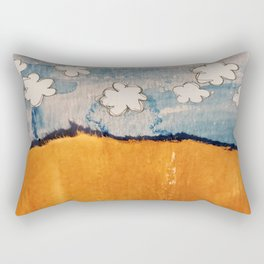 Tamed Landscape Rectangular Pillow