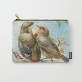 Vintage Birds #2 Carry-All Pouch