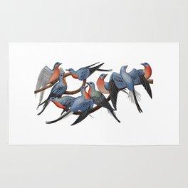 Passenger Pigeons Rug