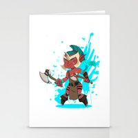 dota Stationery Cards featuring Troll Warlord by Angxix