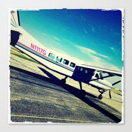 leaving on a jet plane Canvas Print