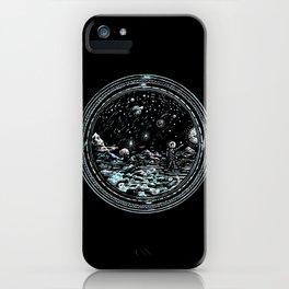 Miniature Circle Landscape 2: Astronausea.. iPhone Case