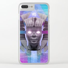 Amenophis II Clear iPhone Case