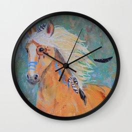 """Running Free"" Wall Clock"
