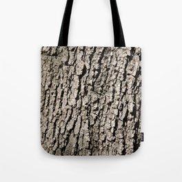 TEXTURES - Valley Oak Tree Bark Tote Bag