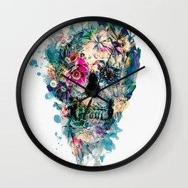 Skull ST III Wall Clock