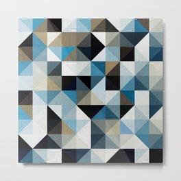 Colored Squares II Metal Print