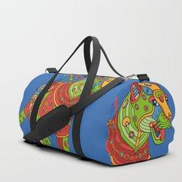 Jaguar, cool wall art for kids and adults alike Duffle Bag