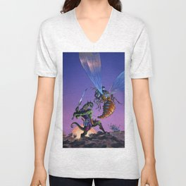 Bug Wars Unisex V-Neck