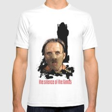 Hannibal Lecter: Monster Madness Series Mens Fitted Tee White MEDIUM