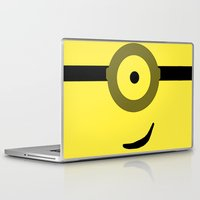 minions Laptop & iPad Skins featuring Minions Banana? by ZenthDesigns