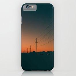 Fade Into Night iPhone Case