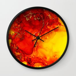 Destruction of Twilight Wall Clock