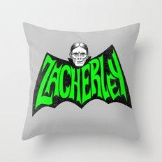 Zacherley Throw Pillow