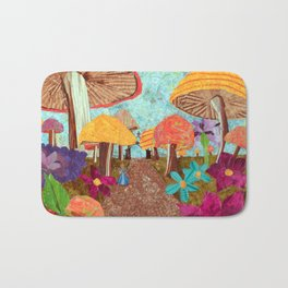 Alice in the Forest Bath Mat