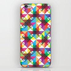 Abstract blocks pattern iPhone & iPod Skin