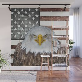 American Bald Eagle Patriot Wall Mural