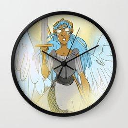 Fighter Angel Wall Clock
