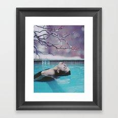 Inhale Framed Art Print