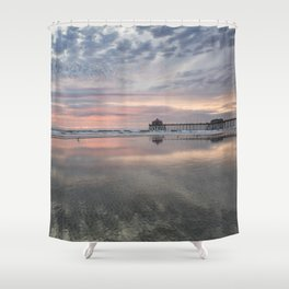 HB SUNSET 1-3-18 Shower Curtain