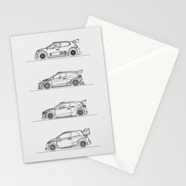WRC 2017 Stationery Cards