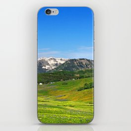 Crested Butte iPhone Skin