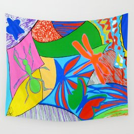 Bugs rock Wall Tapestry