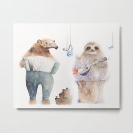 The Special Duo Metal Print