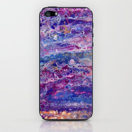 Psycho - Stream of Consciousness in Lively Color Flow by annmariescreations iPhone Skin