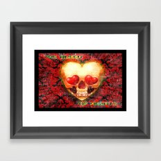 THE QUEEN OF HEARTS 044 Framed Art Print
