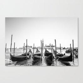 Gondola off Duty Canvas Print