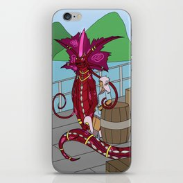 Cran and Candi iPhone Skin