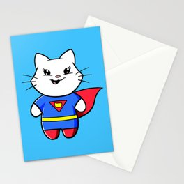 Superkitty! Stationery Cards