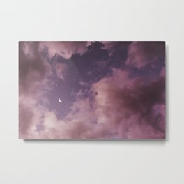 Consider me a satellite forever orbiting Metal Print